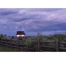 Leuty Lifeguard Station at Summer Dusk Photographic Print