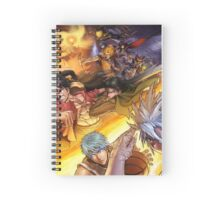 Crossover anime Spiral Notebook