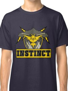 Pokemon Go Team Instinct Logo Classic T-Shirt
