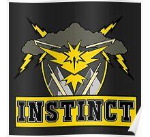 Pokemon Go Team Instinct Logo Poster