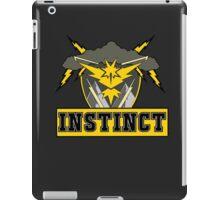 Pokemon Go Team Instinct Logo iPad Case/Skin