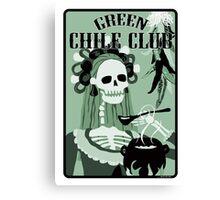 green chile club Canvas Print