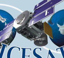 ICESat (Ice, Cloud, and land Elevation Satellite) Program Logo Sticker
