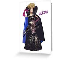 Alaska Thunderfvck Graphic Allstars Greeting Card
