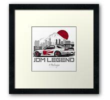 Mazda RX7. JDM Legend Framed Print