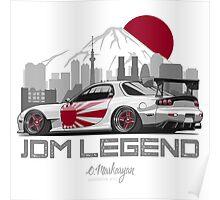 Mazda RX7. JDM Legend Poster