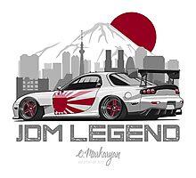 Mazda RX7. JDM Legend Photographic Print