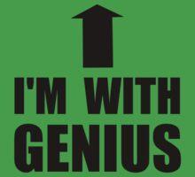 I'm With Genius Kids Tee