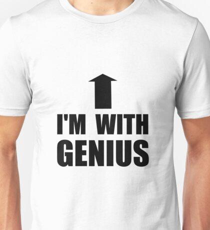 I'm With Genius Unisex T-Shirt