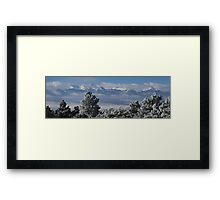 Frosty Day In The Sangres Framed Print