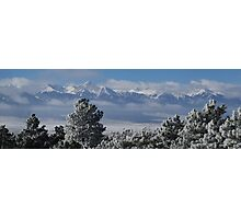 Frosty Day In The Sangres Photographic Print