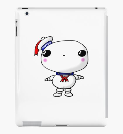 Kawaii Chibi Cute Stay Puft Marshmallow Man Ghostbusters iPad Case/Skin