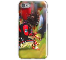 Kearsarge Pow Wow Dancer iPhone Case/Skin
