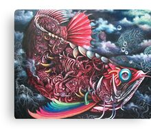 fish of Obsession  Canvas Print