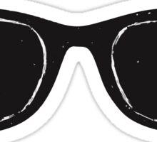 White Salt Sunglasses Sticker