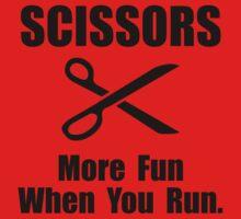 Scissors Fun Run Kids Tee