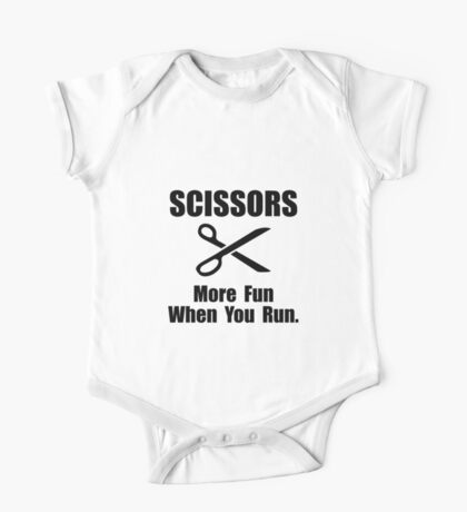 Scissors Fun Run One Piece - Short Sleeve