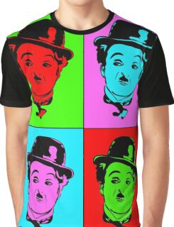 Charlie Chaplin Graphic T-Shirt