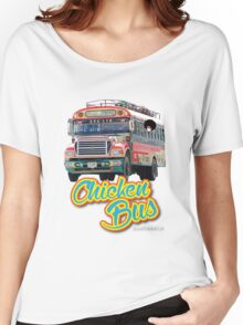 chicken bus Women's Relaxed Fit T-Shirt