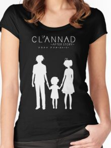 CLANNAD ~After Story~ (White Edition) Women's Fitted Scoop T-Shirt