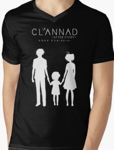 CLANNAD ~After Story~ (White Edition) Mens V-Neck T-Shirt