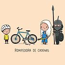 Rompedora de cadenas by Andres Colmenares