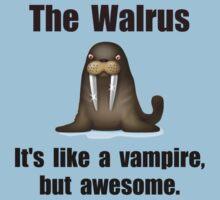 Walrus Vampire Kids Tee