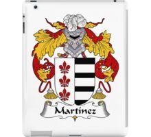 Martinez Coat of Arms/Family Crest iPad Case/Skin