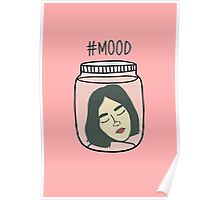 HIPSTER : MOOD LOST IN THOUGHTS Poster