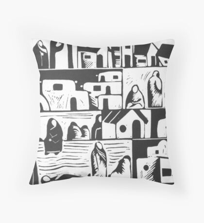 Tierra Encantada Throw Pillow