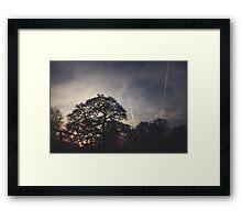 Dusk Sky Framed Print