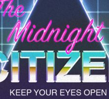 "Midnight Citizen ""Grid"" Sticker Sticker"