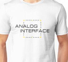 Analog Interface Unisex T-Shirt