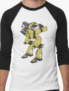 Gortys x Loader Bot Men's Baseball ¾ T-Shirt