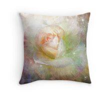 Soul Mate Rose Throw Pillow