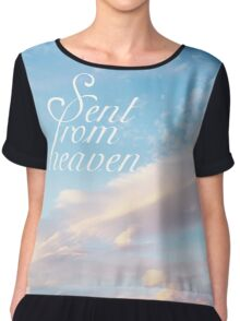 Sent From Heaven Chiffon Top