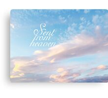 Sent From Heaven Canvas Print