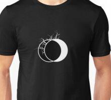 Geometric Lunae III Black Unisex T-Shirt