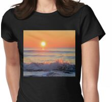 We Danced Like A Wave On The Ocean Womens Fitted T-Shirt