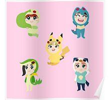 Seventeen - Pokemon - Vocal Unit Poster