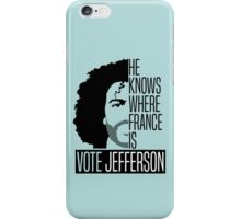 Vote For Jefferson iPhone Case/Skin