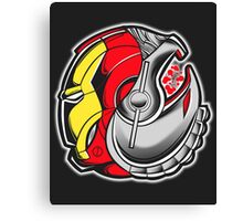 Ironman/Ultron Yin Yang Canvas Print