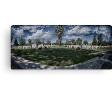 Graveyard Canvas Print
