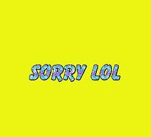 Sorry Lol by animatedtextart