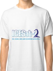 ICESat-2 Logo Optimized for Light Colors Classic T-Shirt