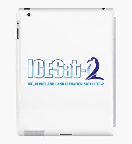 ICESat-2 Logo Optimized for Light Colors iPad Case/Skin