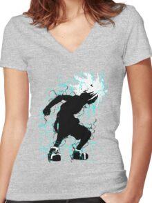 Hunter x Hunter Killua Women's Fitted V-Neck T-Shirt