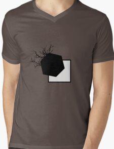 Quadratum Polygoni Mens V-Neck T-Shirt
