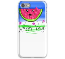 Happy Days Watermelon iPhone Case/Skin