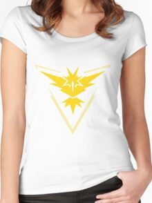 Pokemon GO - Team Instinct Women's Fitted Scoop T-Shirt